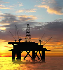 Rig offshore
