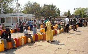 Awka-residents-queue for kerosene