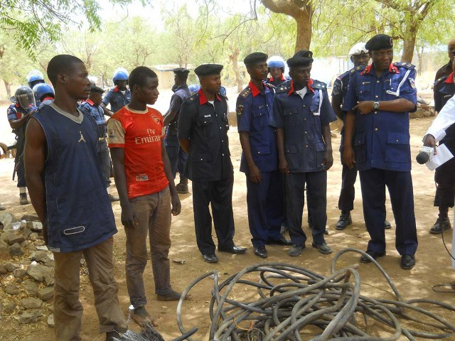 PHCN Headlines News at a Glance: NSCDC arrests PHCN vandal