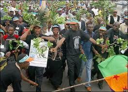 Ogoni people protest