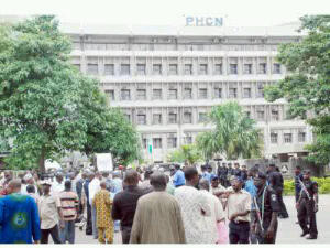 PHCN protest
