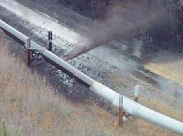 Pipelines spill