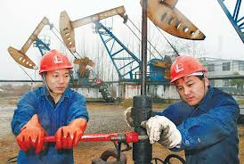 Chinese oil production