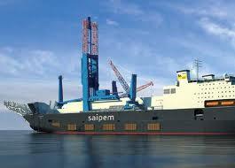 Saipem vessel