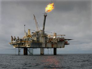 Oil rig West-Africa