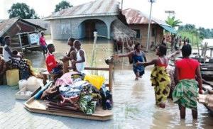 Residents of Koloama community in Bayelsa