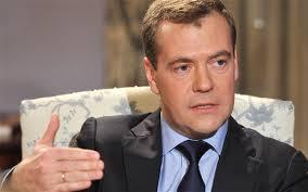 Prime Minister Dmitry Medvedev of Russia