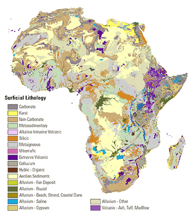 Africas economic growth will slow to 37 in 2015 world bank africa geology map gumiabroncs Choice Image