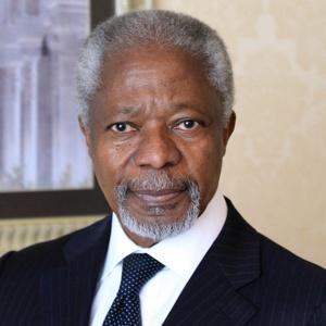 Kofi Annan, former UN Sec. Gen.