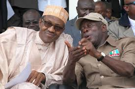 President Mohammadu Buhari and Governor Adams Oshiomhole of Edo state.