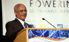 Ato Alemayehu Tegenu, Ethiopia's Minister of Water, Irrigation and Energy.