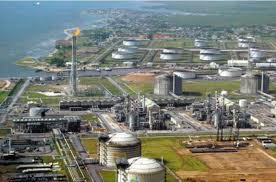 Bonny oil terminal.