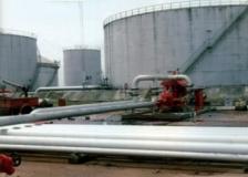 Petroleum products depot.