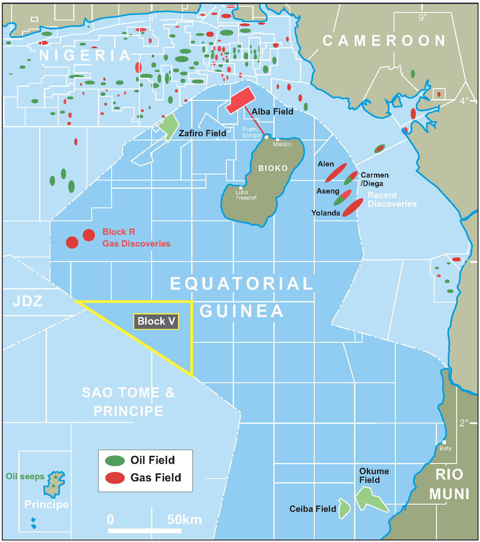 Equatorial Guinea offshore oil gas 15941798 MapPorn