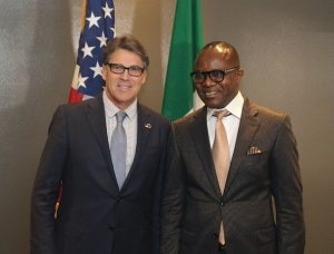 US to encourage more investments in Nigeria after Kachikwu meets Perry