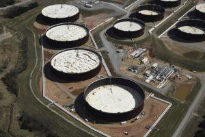 U.S. crude stocks