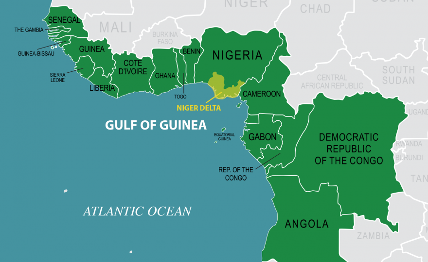 map of nigeria showing states with G7 Gulf Guinea Nations Join Forces Maritime Crimes on Ondo State further Afriquenigeriamdv51 additionally File Locator map Nigeria as well Libya Spillover Mapping Northern Africas Growing Chaos additionally What Languages Are Spoken In Cameroon.