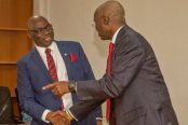 The-Minister-of-Power-Works-and-Housing-Mr.-Babatunde-Fashola-SAN-at-the-inauguration-the-Chairman-of-the-Nigerian-Electricity-Regulatory-Commission-Prof-James-Momoh-174x116.jpg