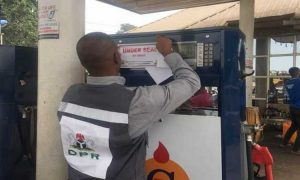 Image result for DPR seals off gas plants in Ogun for under dispensing
