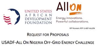 off-grid energy challenge for Nigeria