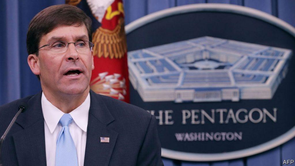 U.S. to strengthen troop presence near Syria oil fields - Pentagon chief