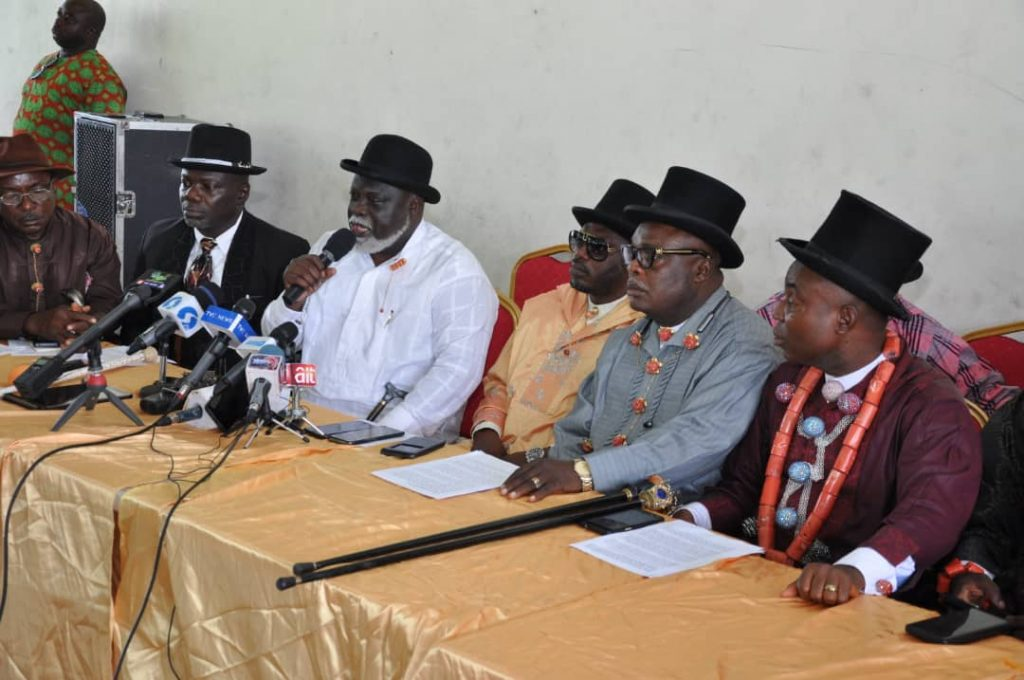 Host communities urge Buhari to caution Gov Wike over OML25