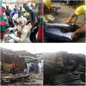 Lagos: 2 dead, 23 burnt in gas explosion