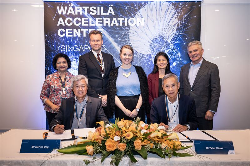 Wärtsilä and PSA Marine collaborate to achieve clean energy shipping