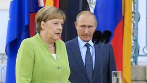 Russia's Putin, Germany's Merkel pledge support to Nord Stream 2 - Kremlin