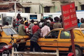 Fuel queue 1