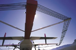 Airborne geophysics airplane