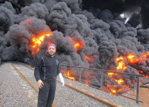 Syrian-oil-wells-on-fire