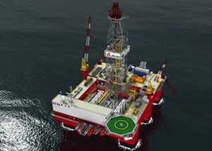 Seadrill drillship