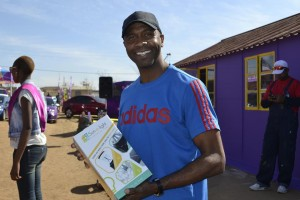 Sun-e-light brings smiles to South Africans