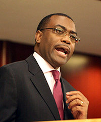Minister of Agriculture and Rural Development, Dr. Akinwumi Adesina