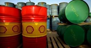 Crude oil barrels