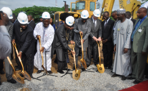 Those pictured include Vice President, Namadi Sambo, Governor of Cross River State Liyel Imoke, Global Vice Chairman GE John Rice, President CEO, GE Nigeria Lazarus Angbazo, Minister of State for Trade