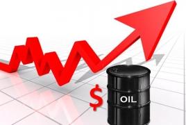Oil price climbs