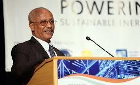 Ato Alemayehu Tegenu, Ethiopia's Minister of Water, Irrigation and Energy.