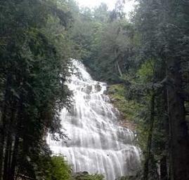 The Dala waterfalls in the Lunda Sul Province.