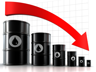 Oil prices biggest weekly fall in 4 years