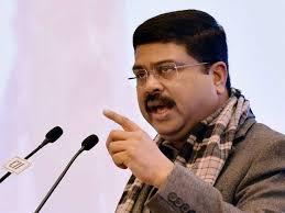 *Indian Oil Minister, Dharmendra Pradhan.