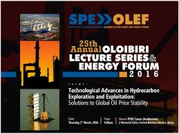 Oloibiri Lecture Series and Energy Forum