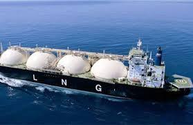 *An LNG vessel.