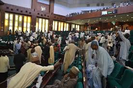*House of Representatives in rowdy session over fuel price increase.