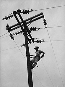 *Rural electrification.