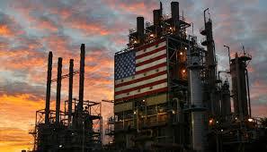 *US oil refinery.
