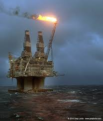 Offshore oil production rig