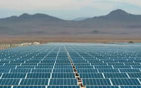 *Solar panels.