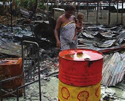 *Illegal crude oil refining activities.